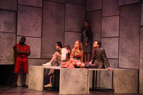 USF production of Titus Andronicus